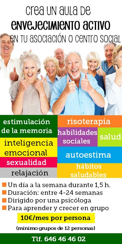 aula de envejecimiento activo
